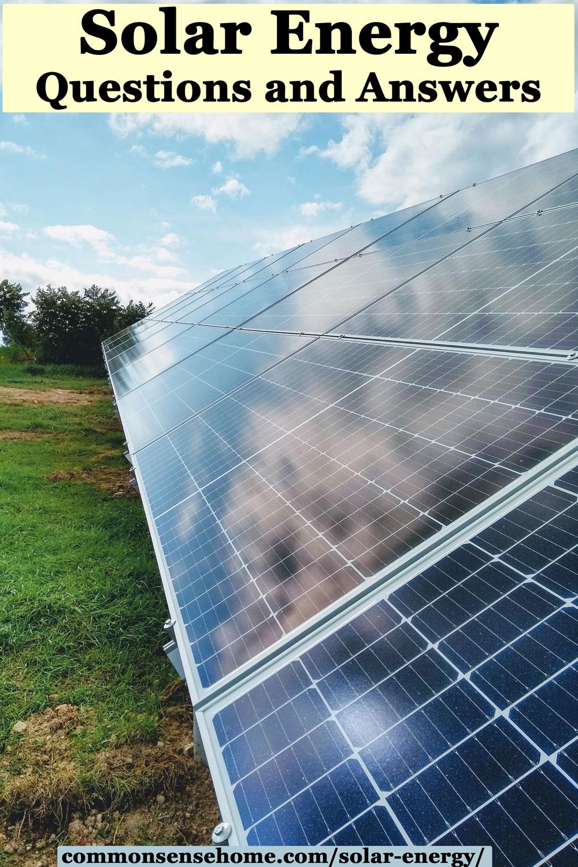 solar electric panels producing solar energy