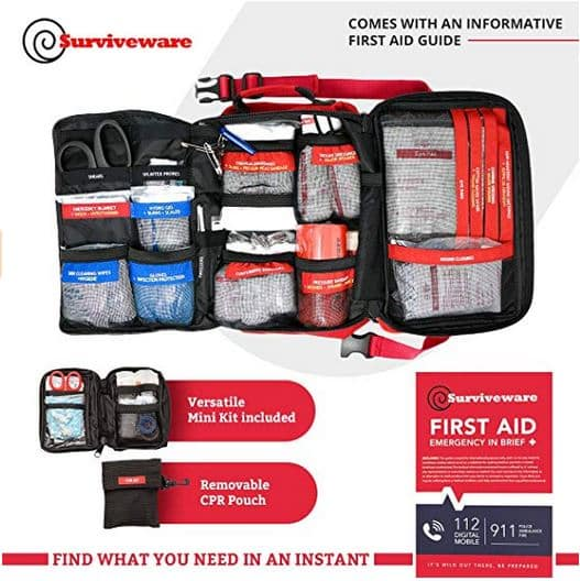 surviveware large first aid kit