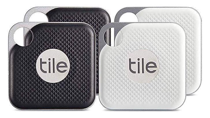 Tile Pro 4 Pack tracker