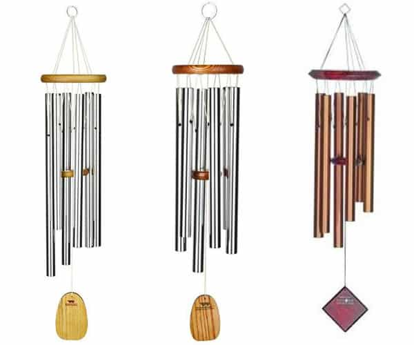 wind chimes for gardening gifts