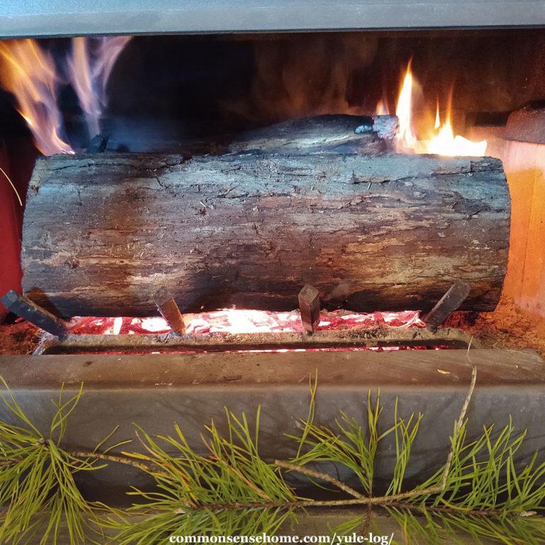 Yule Log – Enjoying A Simple Winter Solstice Tradition