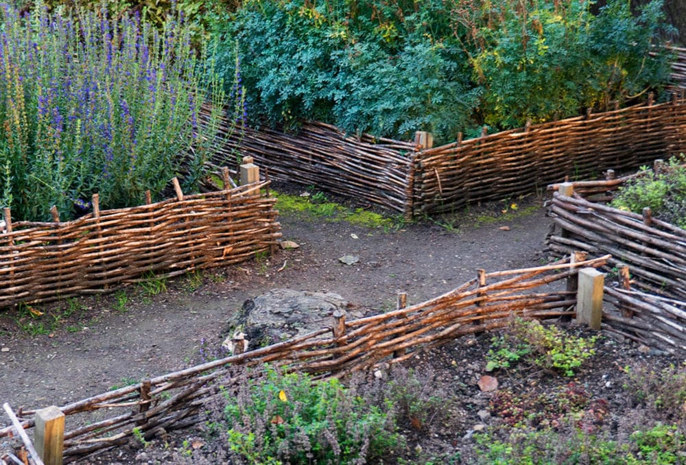 wicker raised beds
