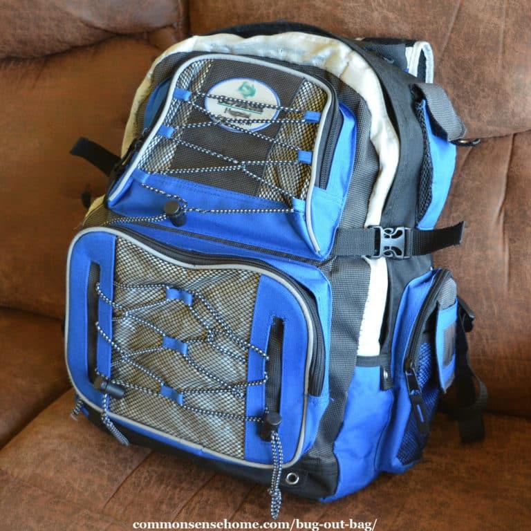 "Bug Out Bag (BOB) or ""Get Home Bag"" DIY Checklist"