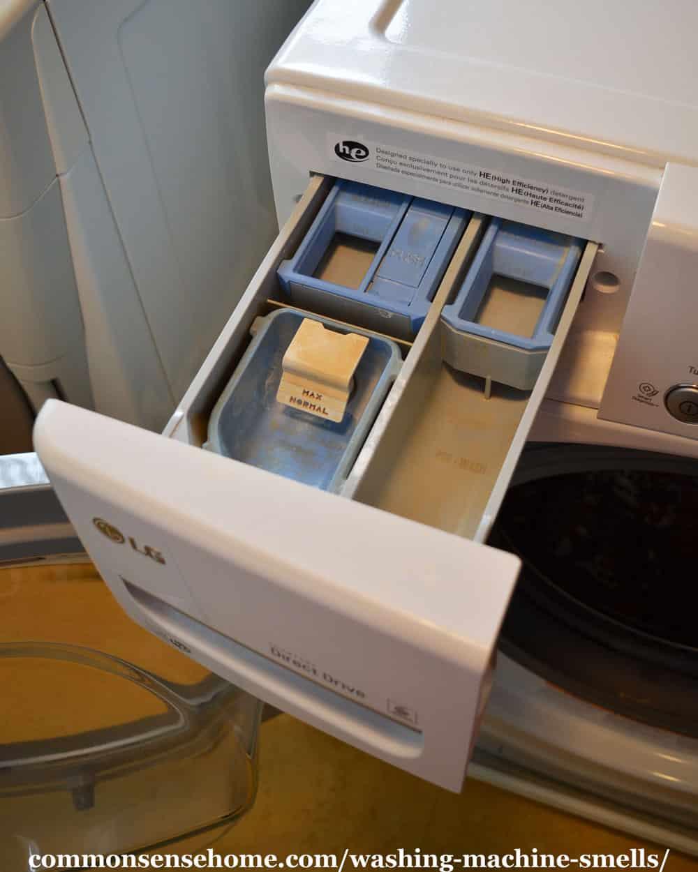 washing machine detergent dispenser
