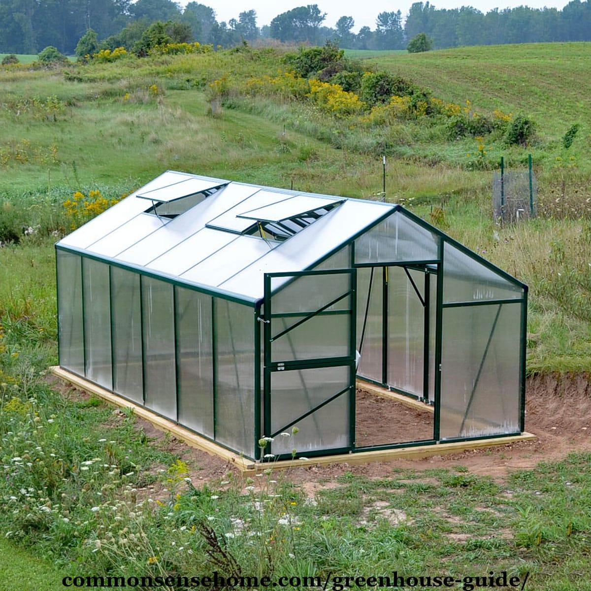 10 x 20 greenhouse