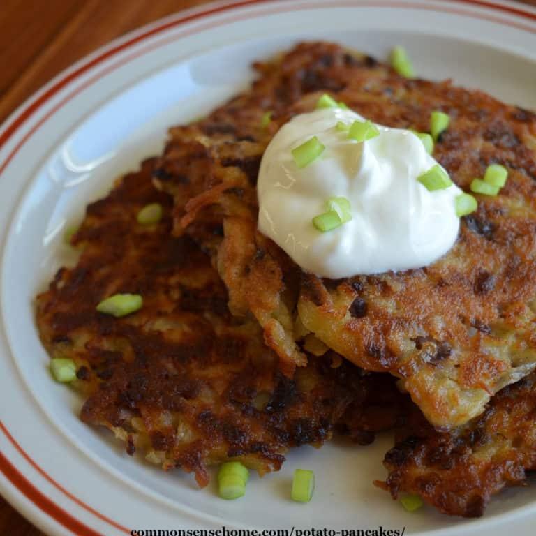 Potato Pancakes (Almost) Like Grandma Used to Make