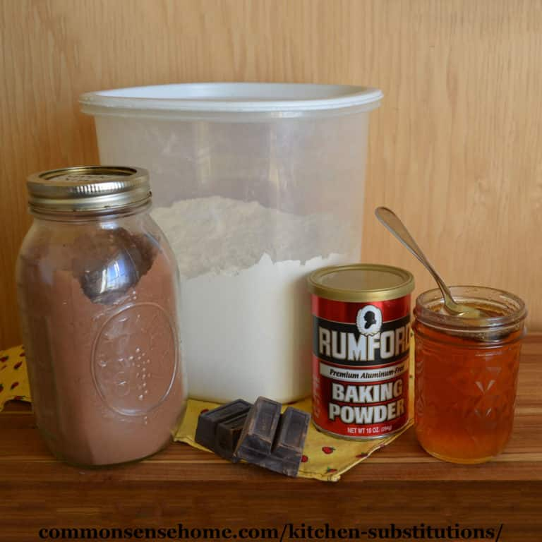Kitchen Substitutions (Save Time, Money and Aggravation)