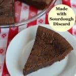 easy sourdough brownies
