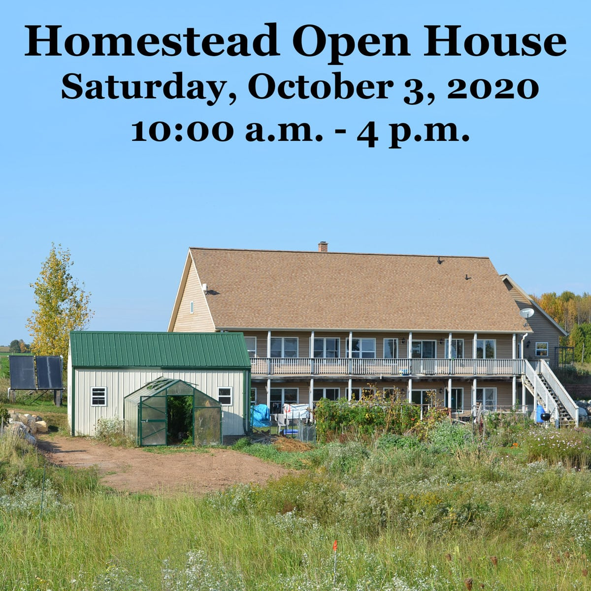 homestead open house 2020