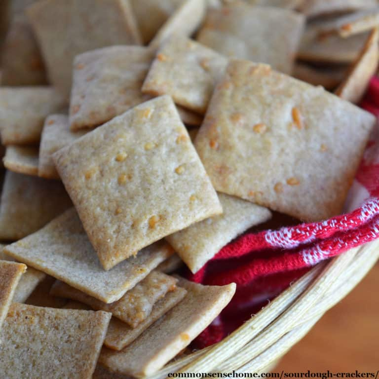 Sourdough Crackers (Easy Recipe with 5 Flavor Options)