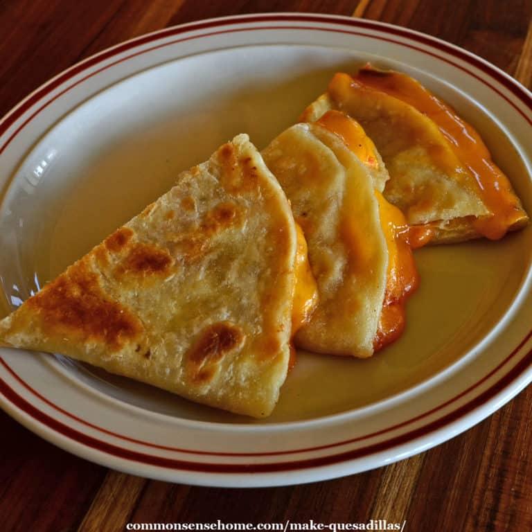Make Quesadillas at Home (Plus an Easy Tortilla Recipe)
