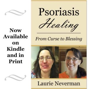 """""""Psoriasis Healing: From Curse to Blessing"""" book cover"""