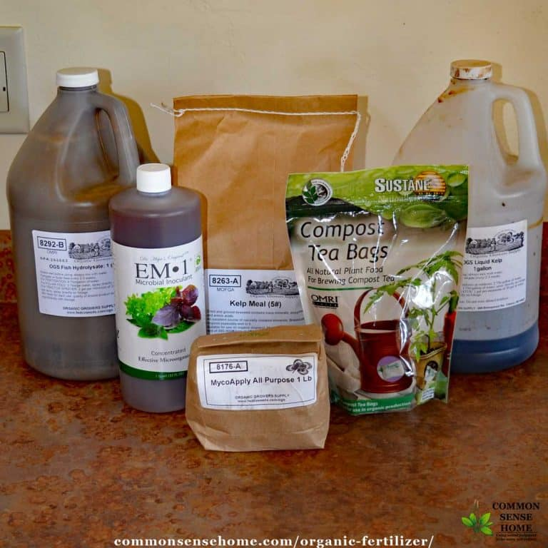 Organic Fertilizer – Feed Your Plants, Soil and Microbes