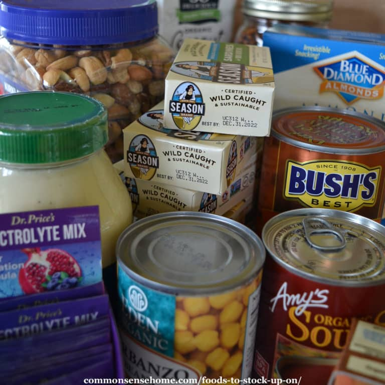 Foods to Stock Up On (for Daily Use or Emergencies)