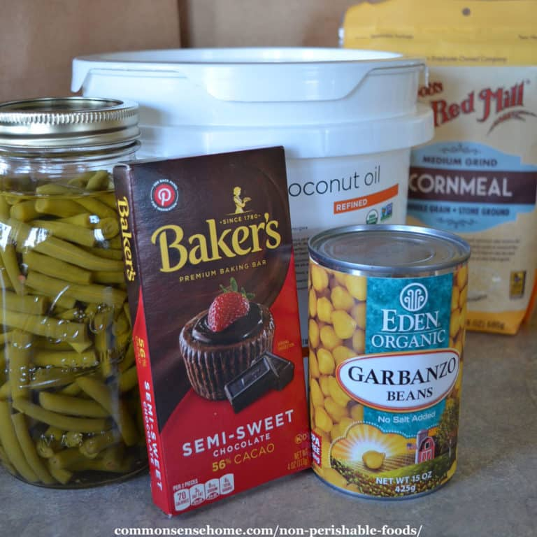 Best Non Perishable Foods (For Home Use or Donations)