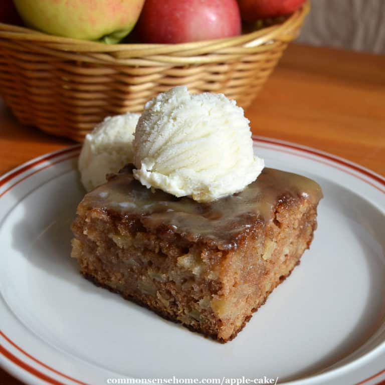 Easy Apple Cake with Caramel Topping – So Good!