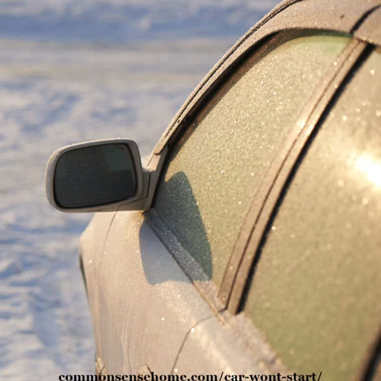 Car Won't Start in the Cold? Check Out these Troubleshooting Tips
