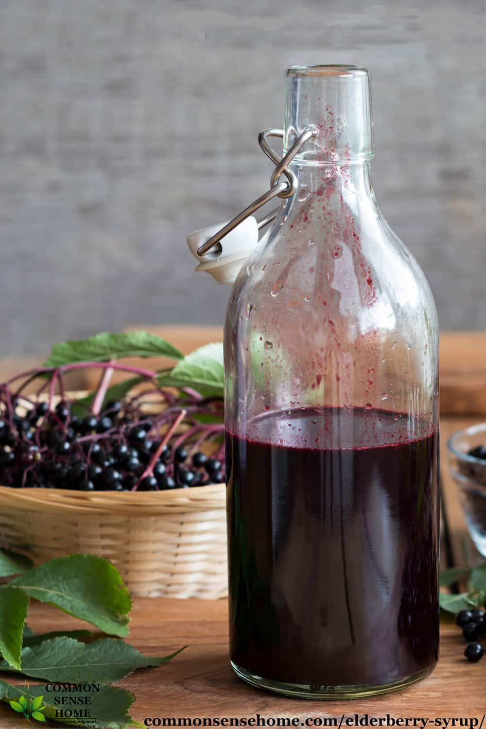 Safe for Kids Easy Elderberry Syrup Recipe