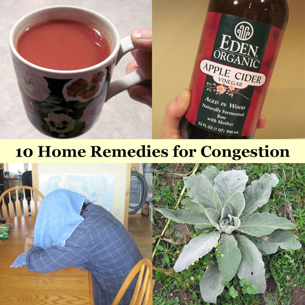 10 Home Remedies for Congestion