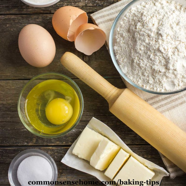 12 Baking Tips for Great Results and a Stress Free Kitchen