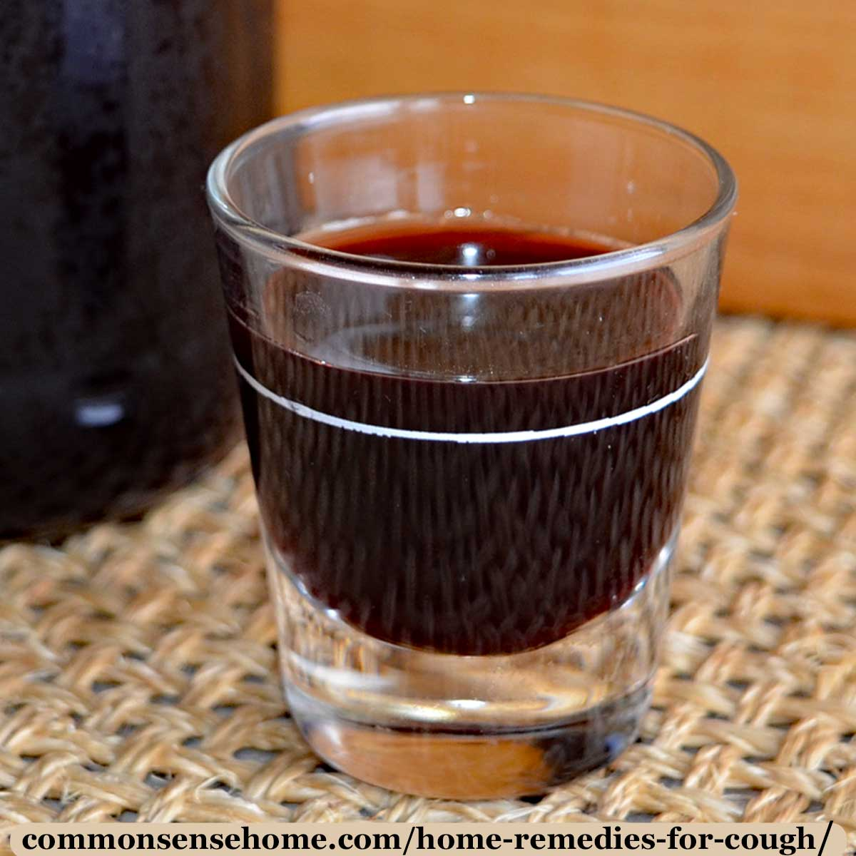 elderberry syrup for cough