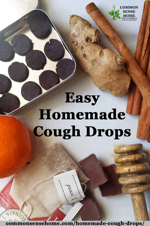 easy homemade cough drops