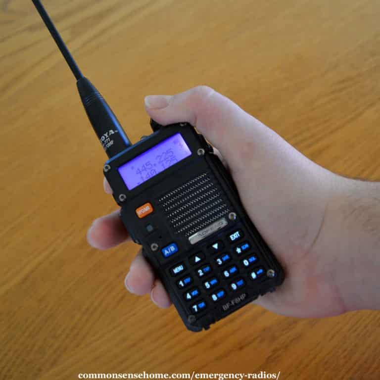Emergency Radios (Handheld Radios)