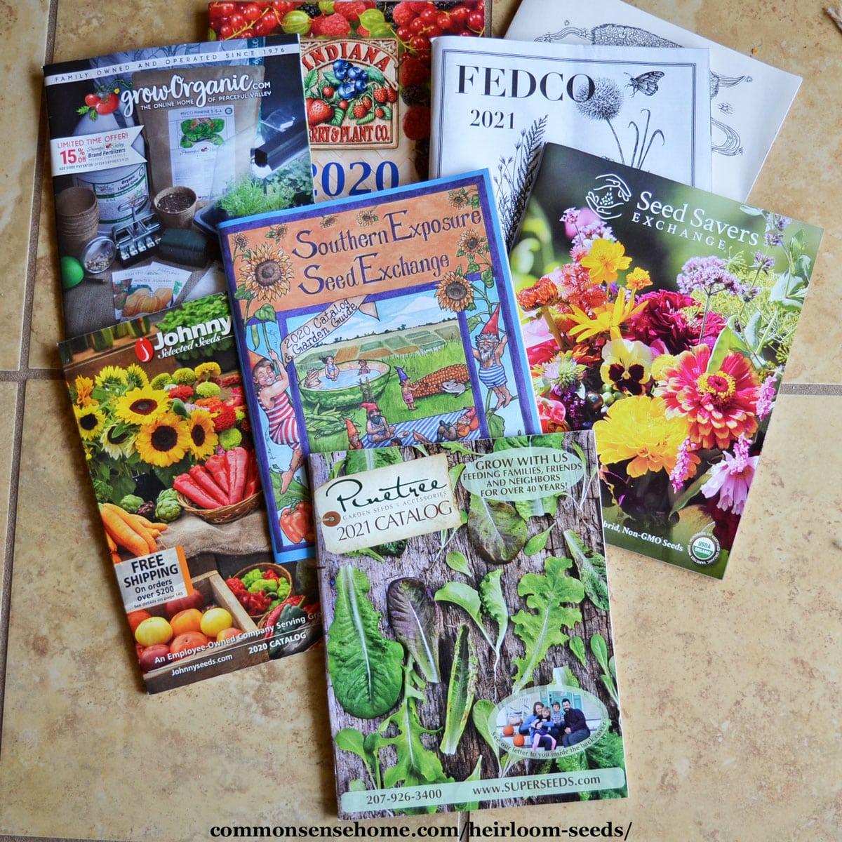 heirloom seed catalogs