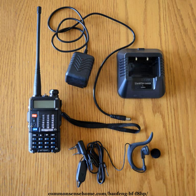 BAOFENG BF F8HP – Review and Recommended Accessories