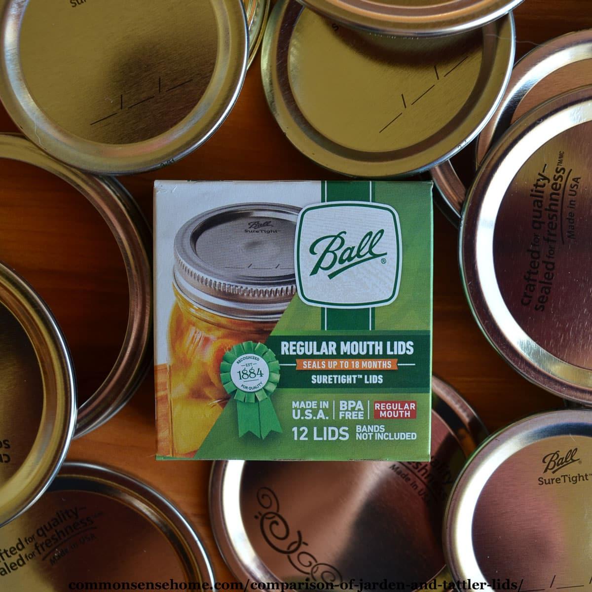 Jarden Ball metal canning lids