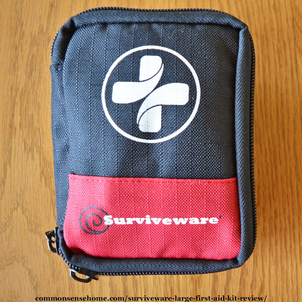 Exterior of Surviveware 50 Piece mini kit