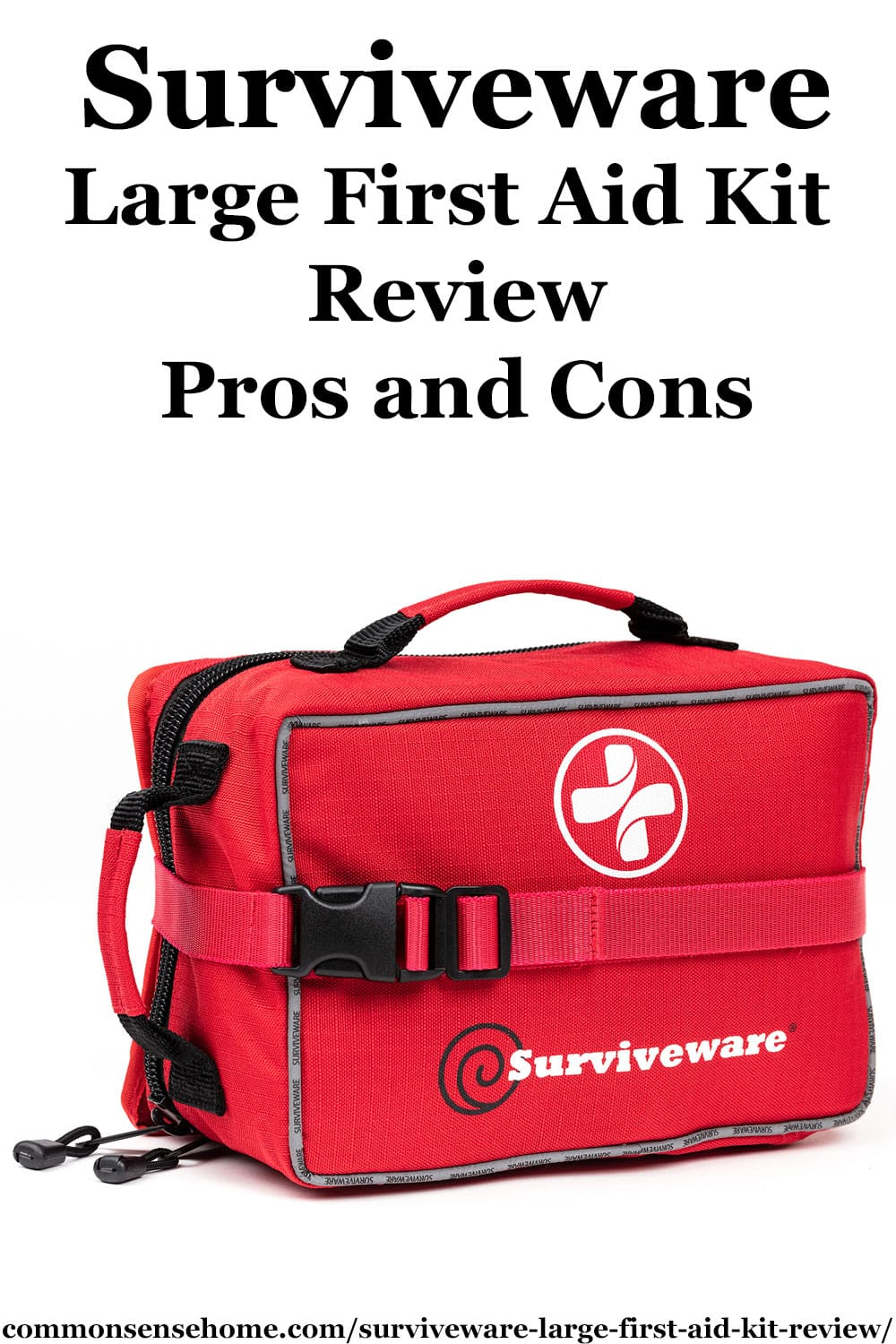 Surviveware Large First Aid Kit Review - Pros and Cons