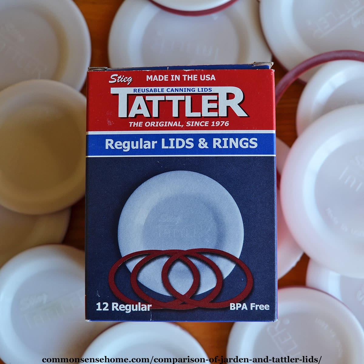 Tattler Lids - Reusable Canning Lids