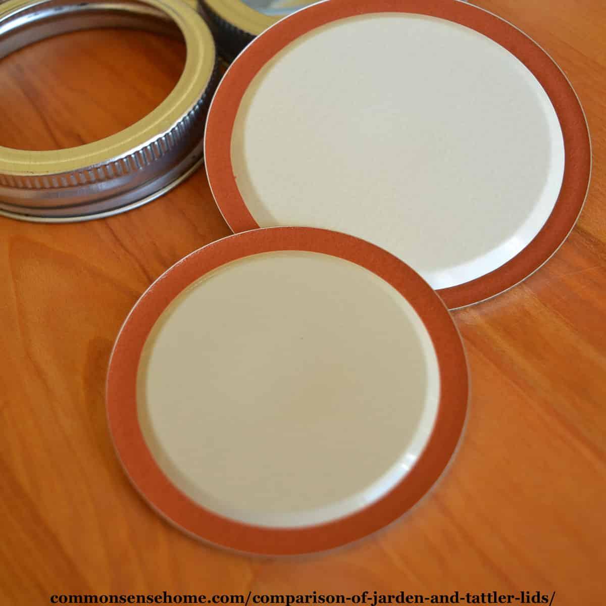 Jarden metal canning lids