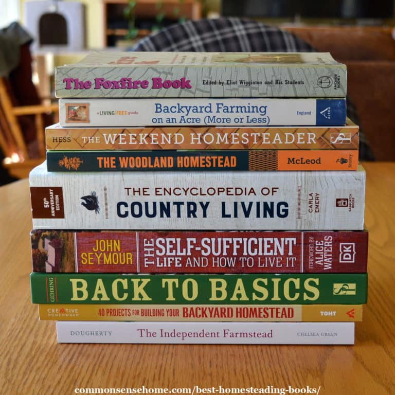 The Best Homesteading Books (Is your favorite on the list?)
