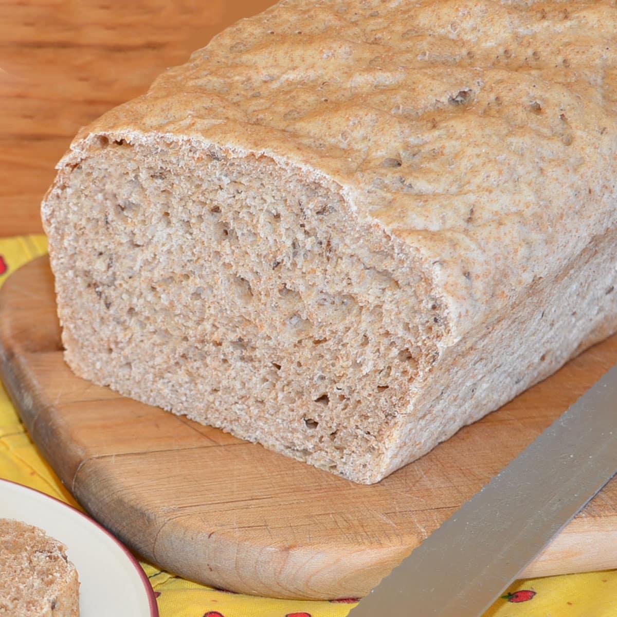 Betty's buttermilk rye bread