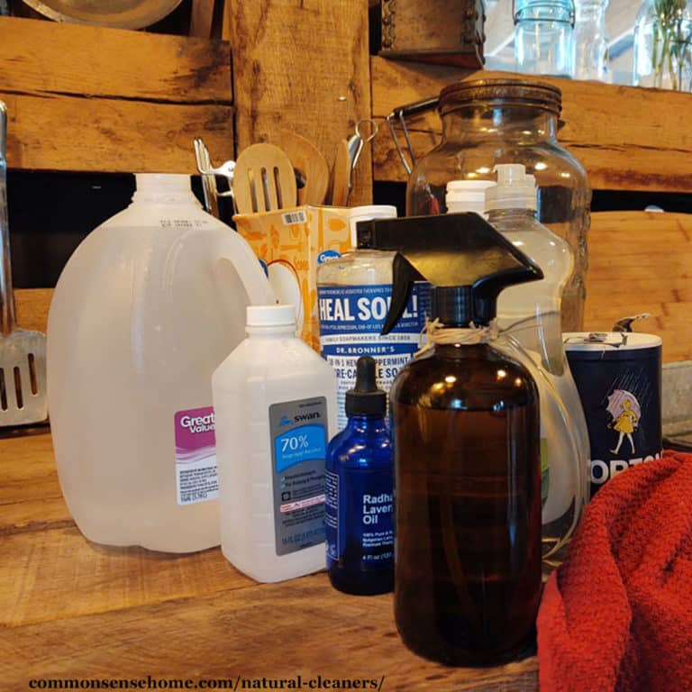Natural Cleaners – How to Make Your Own Cleaning Products