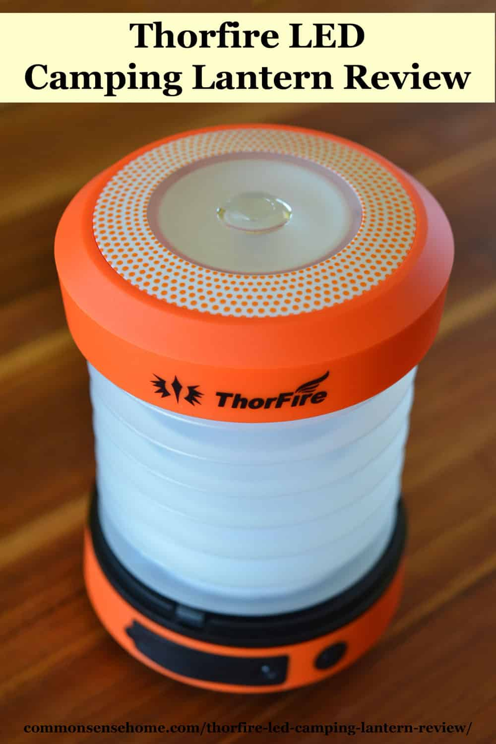Thorfire LED Camping Lantern Review
