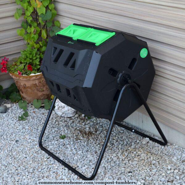Vremi Duel Chamber Composting Tumbler