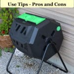 best compost tumblers, use tips, pros and cons